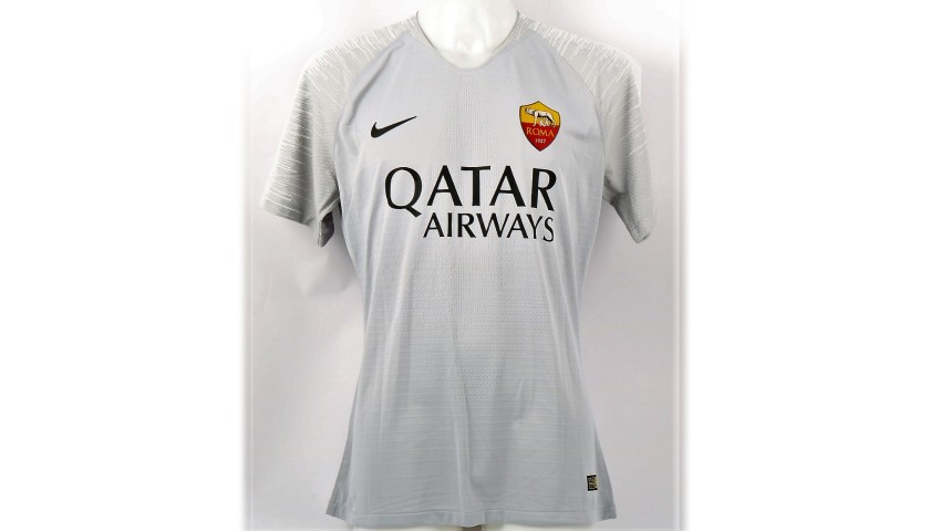 De Rossi's Roma Signed Match Shirt, 2018/19