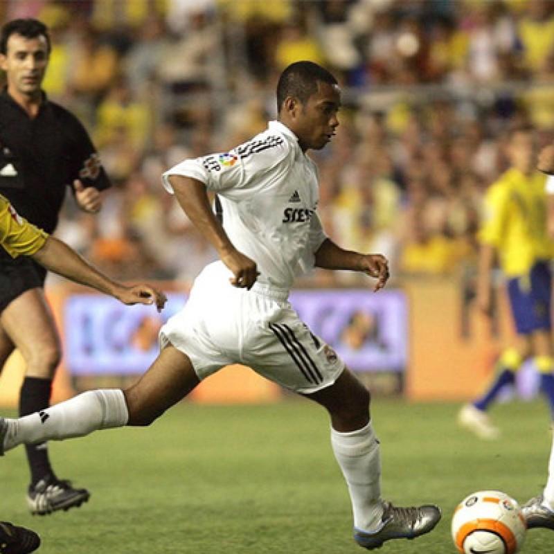 Robinho's Official Real Madrid Signed Shirt, 2005/2006