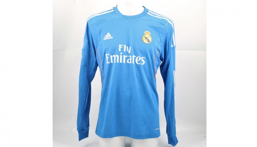 Bale's Match-Issued/Worn Real Madrid Shirt, Liga 2013/14