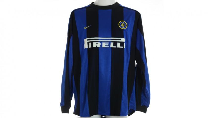 Baggio's Inter Match Shirt, 1999/00