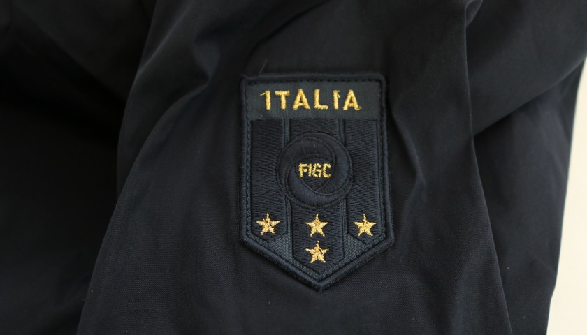 Italy National Football Team Shirt and Trench by Ermanno Scervino