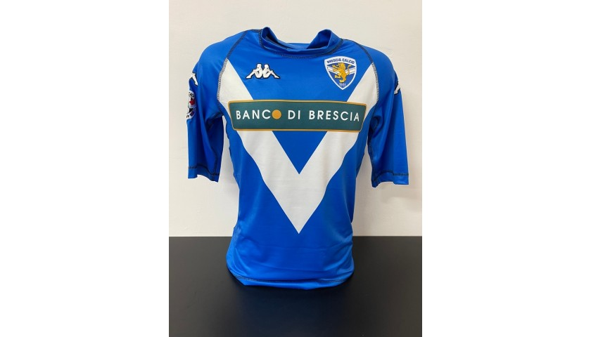 Baggio's Official Brescia Signed Shirt, 2005/06