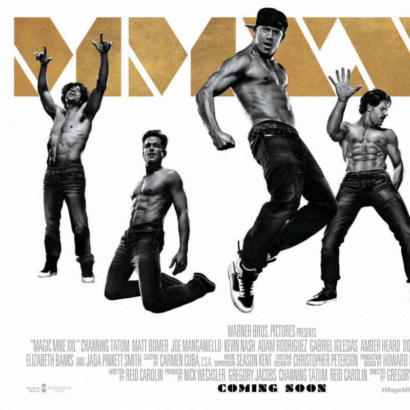 Attend the Magic Mike XXL European Premiere | Lot 2 of 2