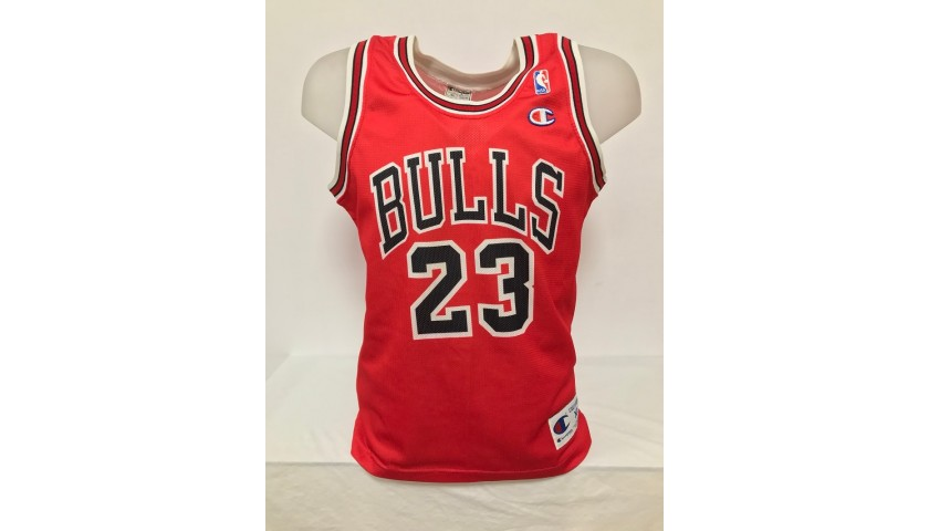 Official Jordan Chicago Bulls Signed Jersey