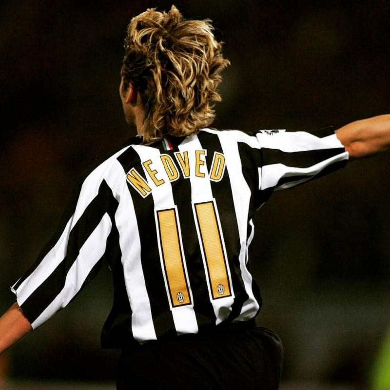 Nedved's Worn Shirt, Juventus-Chievo 2005