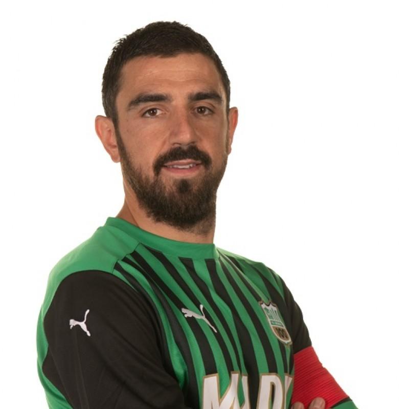 Magnanelli's Sassuolo Signed Match Shirt, 2020/21