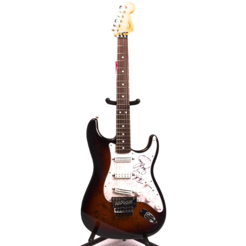 Signed Iron Maiden Fender Stratocaster