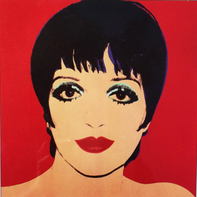 """Liza Minnelli"" by Andy Warhol"