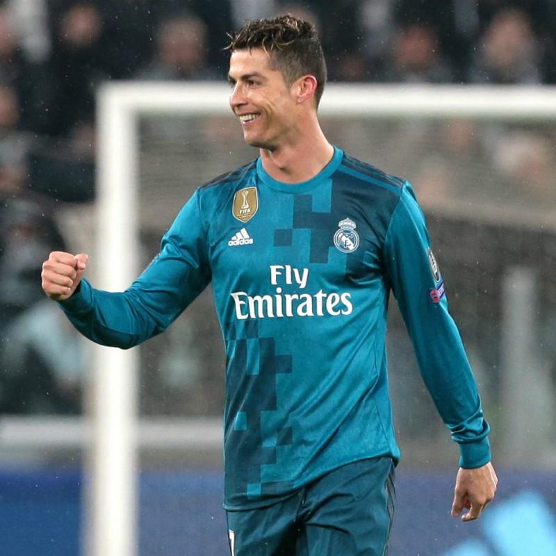 Maglia gara Ronaldo Real Madrid, UCL 2017/18