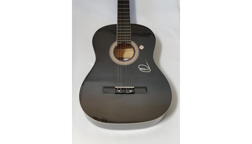 Adam Levine Autographed Acoustic Guitar