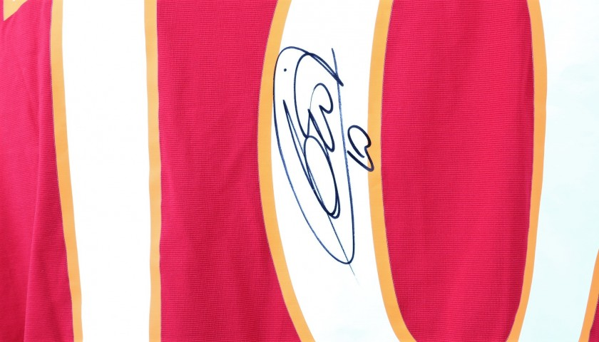Totti's Official AS Roma Signed Shirt, 2009/10