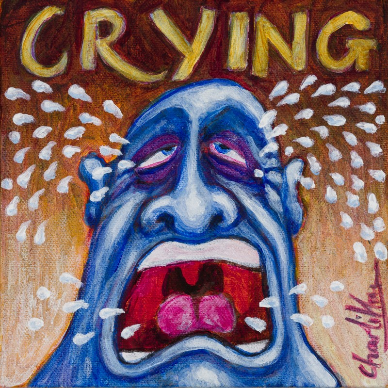 """Crying"" by Charlie Higson inspired by Roy Orbison's Song"