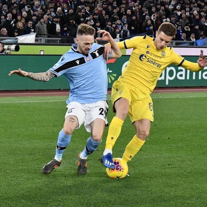 Lazovic's Worn Shirt, Lazio-Hellas Verona 2020
