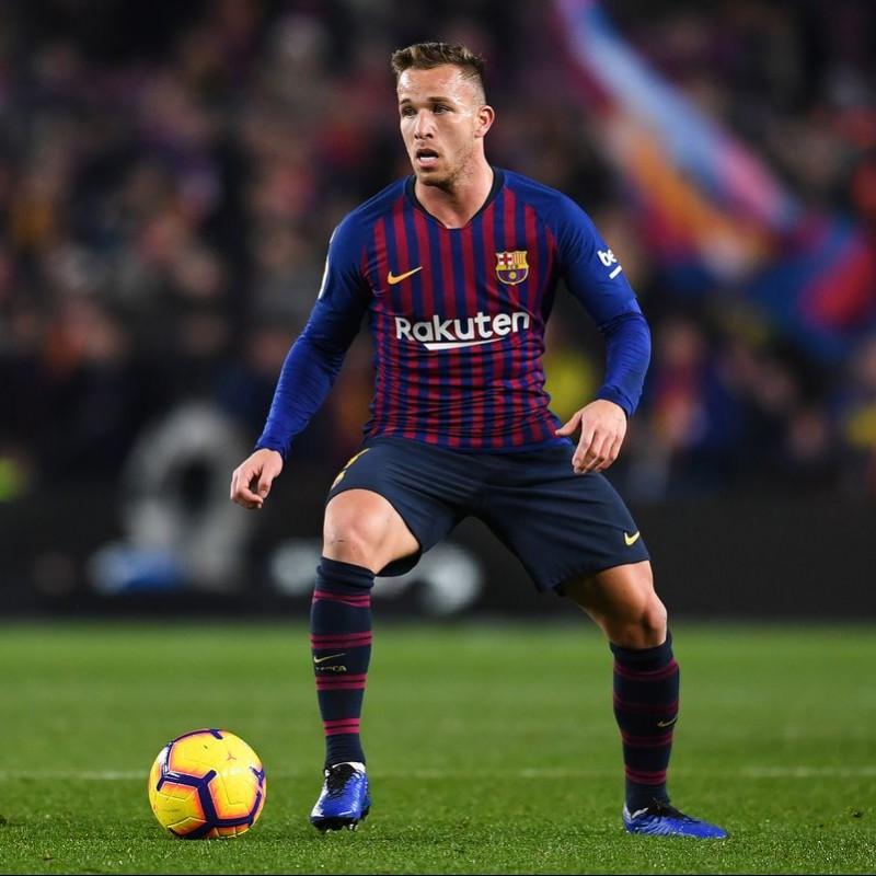Arthur's Barcelona Match Shirt, Copa del Rey 2018/19