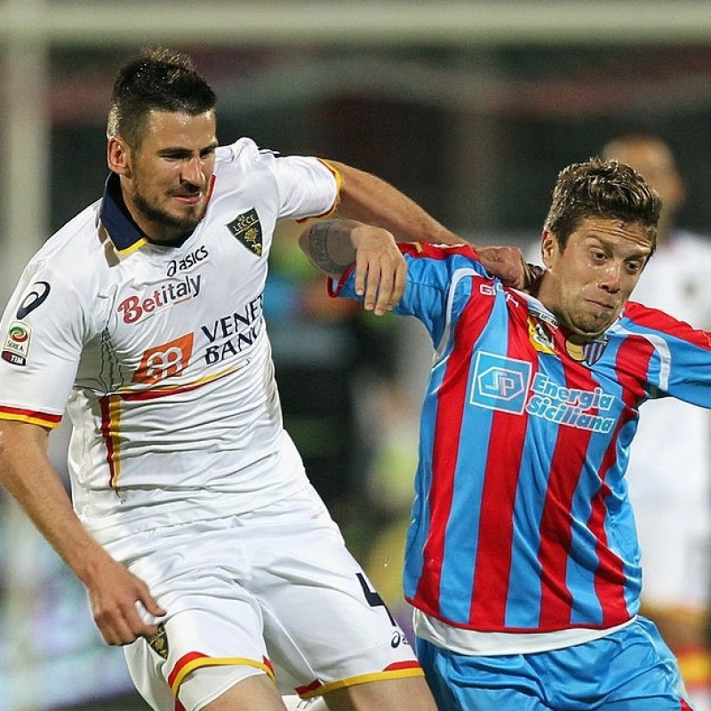 Tomovic's Lecce Match Shirt, 2011/12