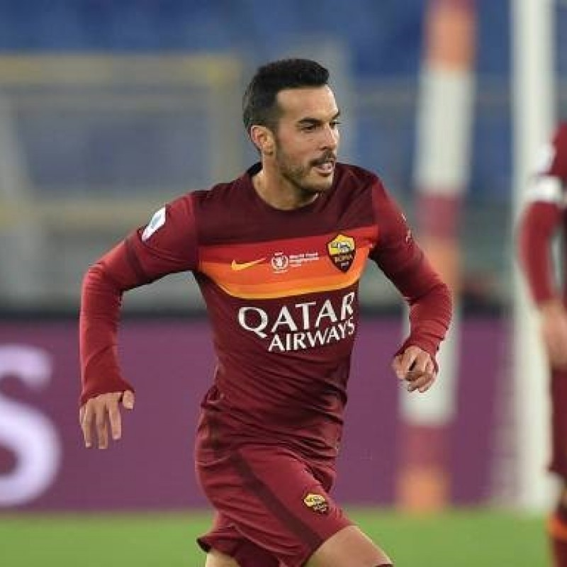 Pedro's Match-Issued Shirt, Roma-Torino - WFP Special