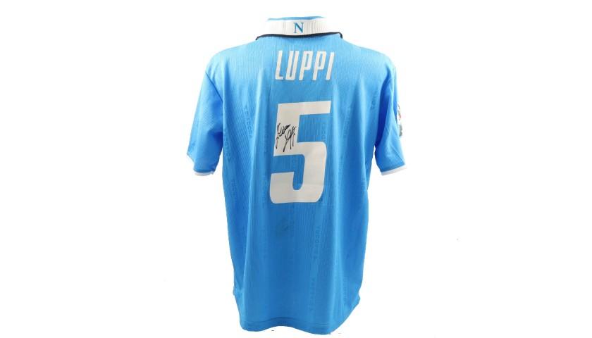Luppi's Napoli Worn and Signed Shirt, 2001/02