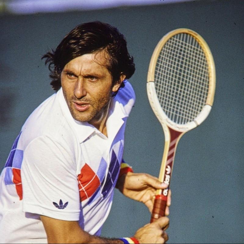Ilie Nastase's Match Racquet