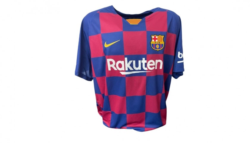 Messi's Official Barcelona Signed Shirt, 2019/20