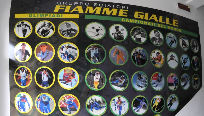 Exclusive Weekend with the Fiamme Gialle Skiers Group