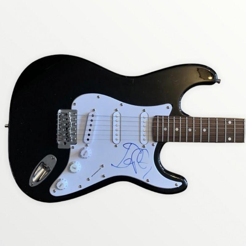 Iggy Pop Signed Electric Guitar