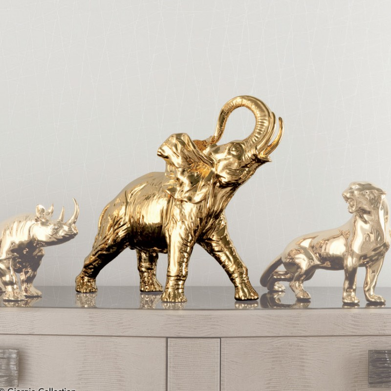 Gold Elephant by Giorgio Collection