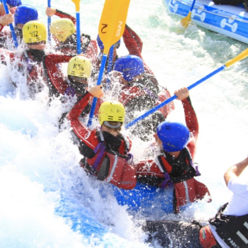 Can You Beat The GB Rafting Medallist? VIP Rafting Challenge