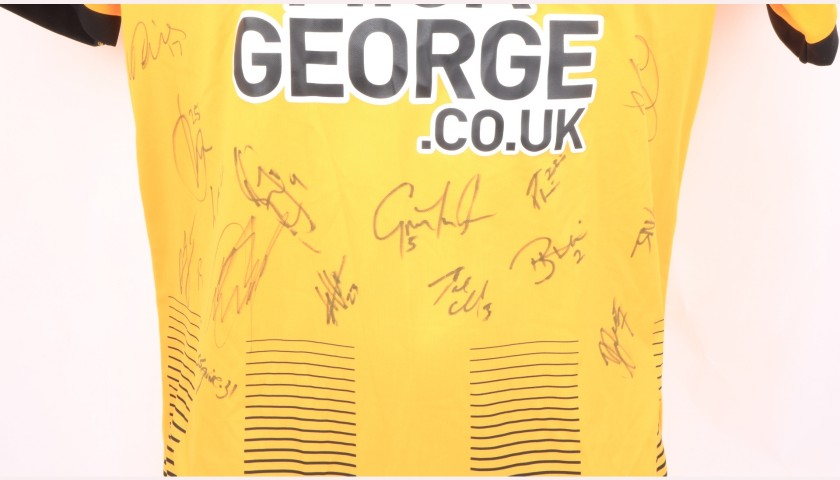 Cambridge United Official Poppy Shirt Signed by the Team