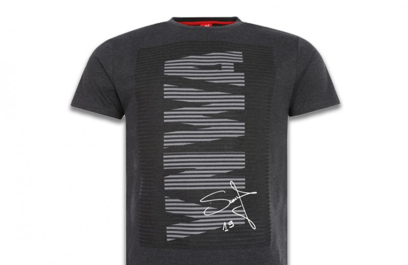 Signed LFC Men's Charcoal YWNA T-shirt