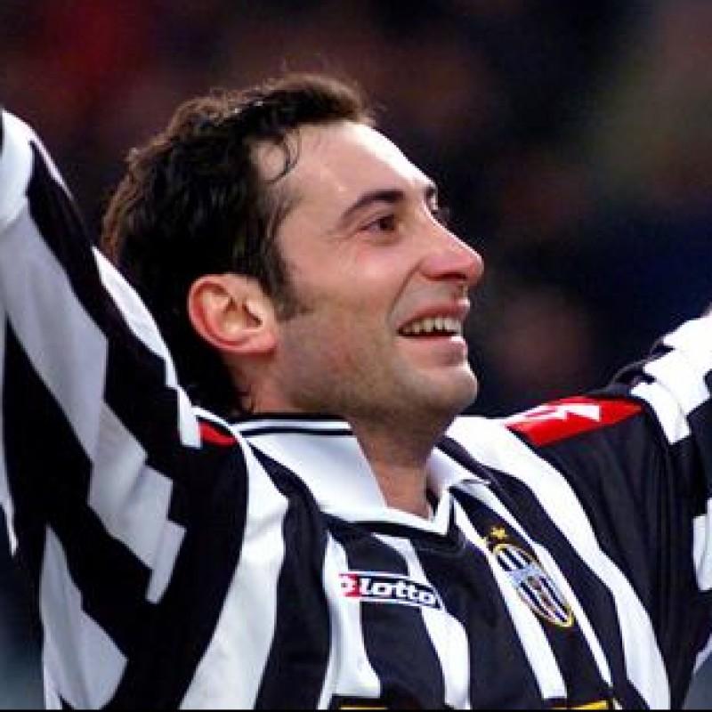 Iuliano's Juventus Match Shirt, Champions League 2001/02