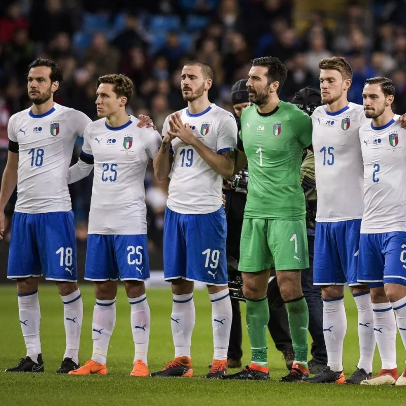 Gagliardini's Match Shorts, Argentina-Italy 2018