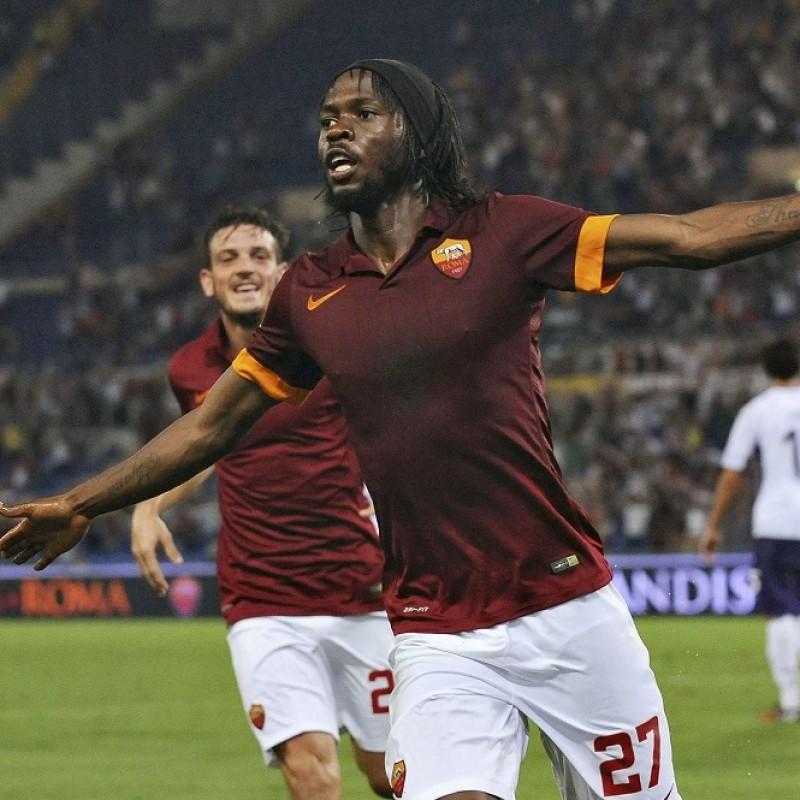 Gervinho's Official Roma Signed Shirt, 2014/15