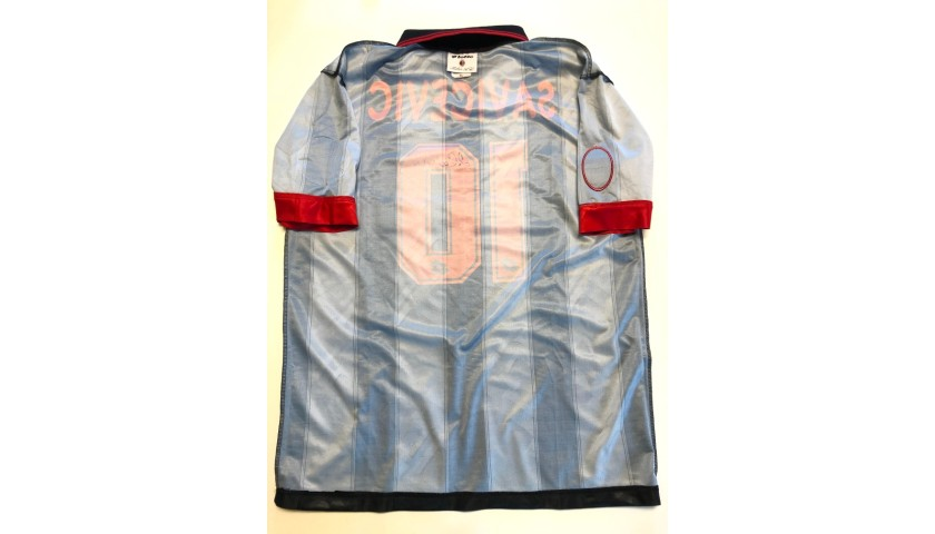 Savicevic's Signed Match Shirt, Sampdoria-Milan 1996