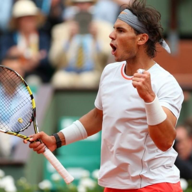 Rafael Nadal's Signed Tennis Racquet, Roland Garros 2013