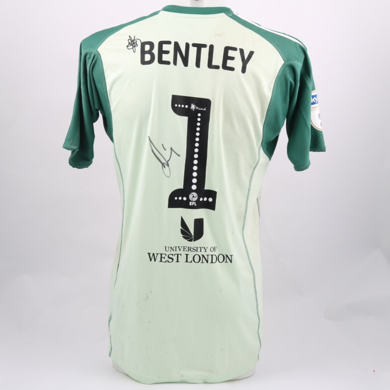 65d62b15f Bentley's Brentford Worn and Signed Poppy Shirt