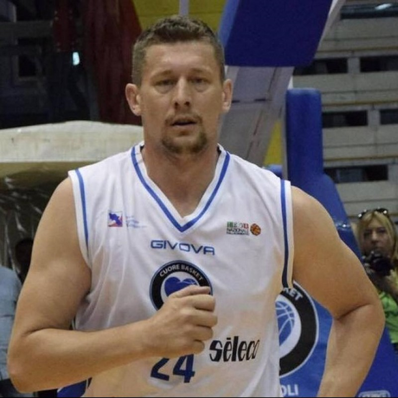 Visnijc's Napoli Basket Signed Celebratory Jersey, 2019/20