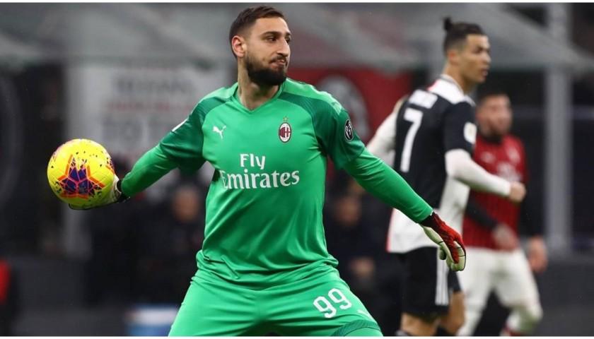 Donnarumma's Official Milan Signed Shirt, 2019/20