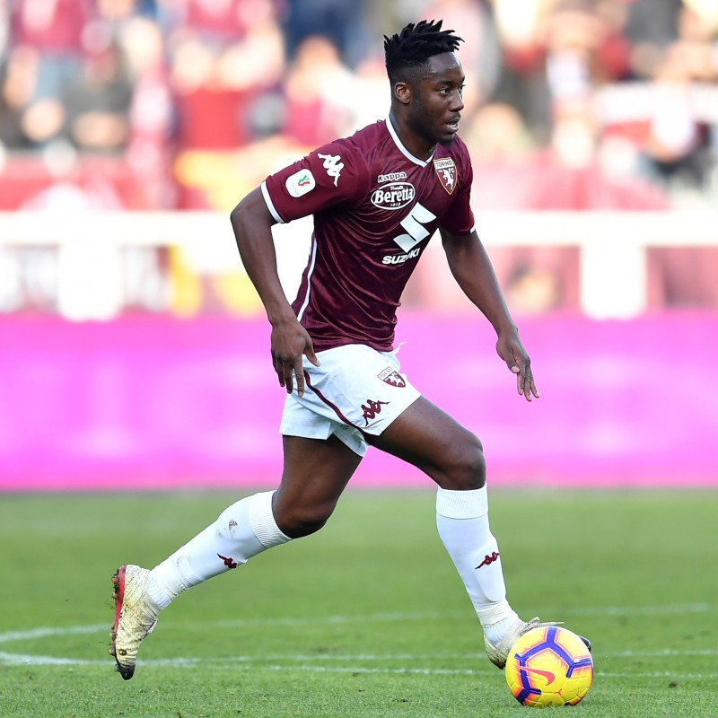 Meite's Torino Worn and Signed Shorts, 2018/19
