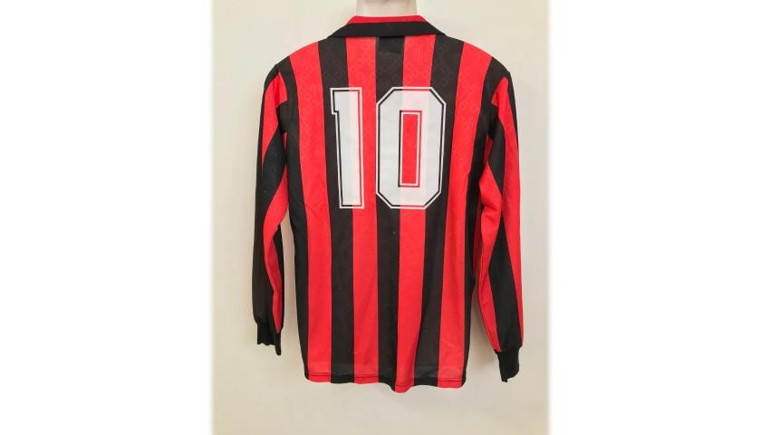 Gullit's AC Milan Match Shirt, 1989/90 Season