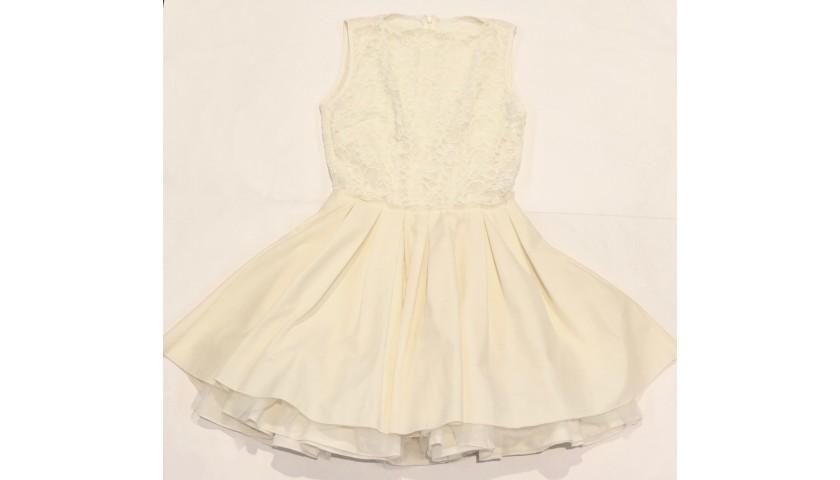 White Jones+Jones Dress Donated by Francine Lewis