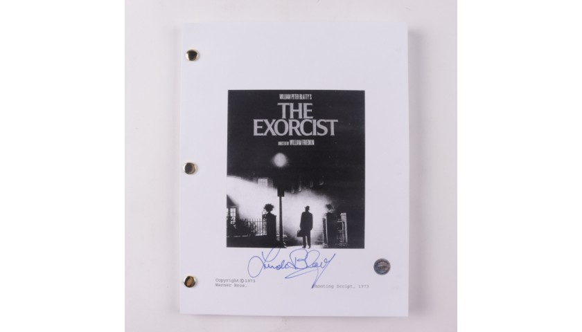 "Linda Blair Signed ""The Exorcist"" Script"