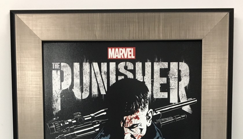 """Jon Bernthal """"The Punisher"""" Autographed Poster"""