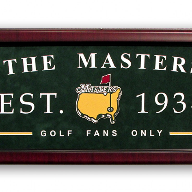 Augusta National Establishment Sign