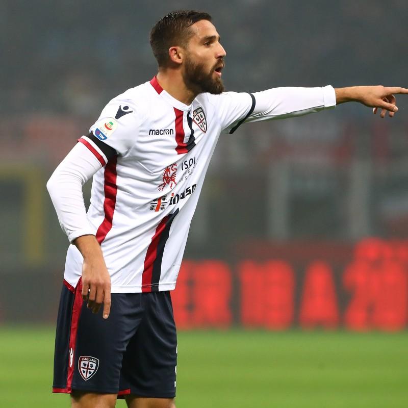 Pavoletti's Official Cagliari Kit, 2018/19 - Signed