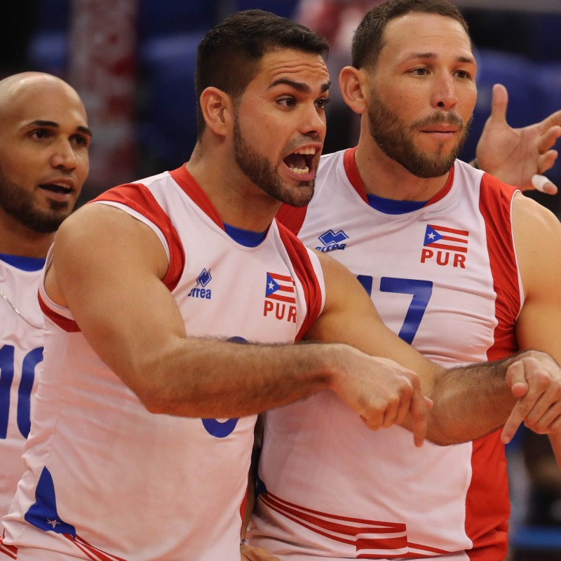 Official FIVB Volleyball Signed by the Puerto Rican National Volleyball Team