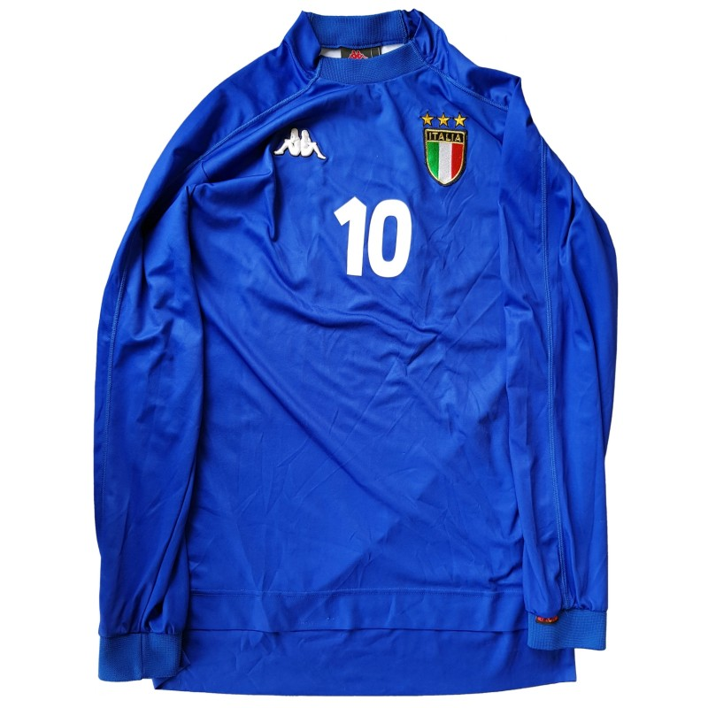 Vieri's Match Shirt, Bielorussia-Italy 1999