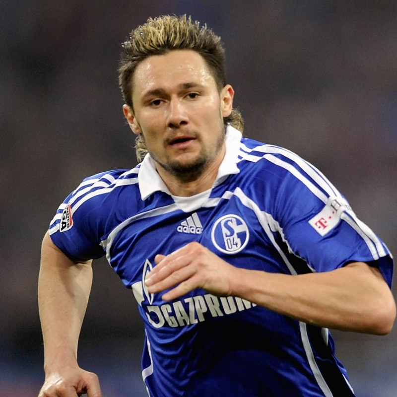 Streit's Official Schalke 04 Signed Shirt, 2007/08