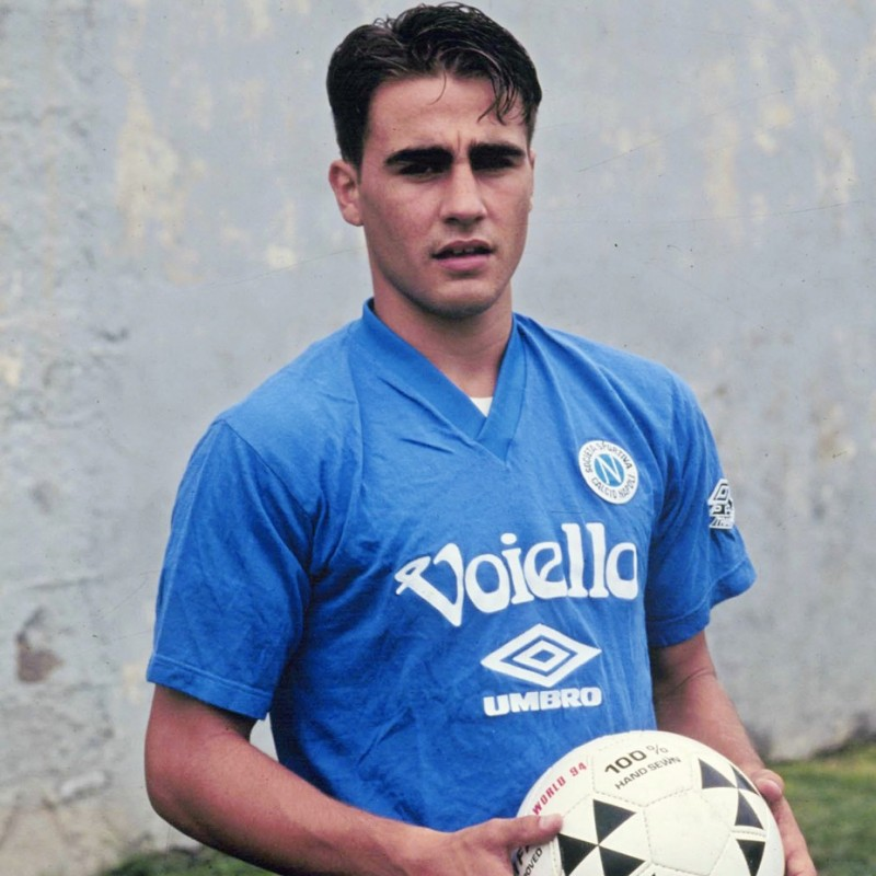 Cannavaro's Official Napoli Signed Shirt, 1994/95