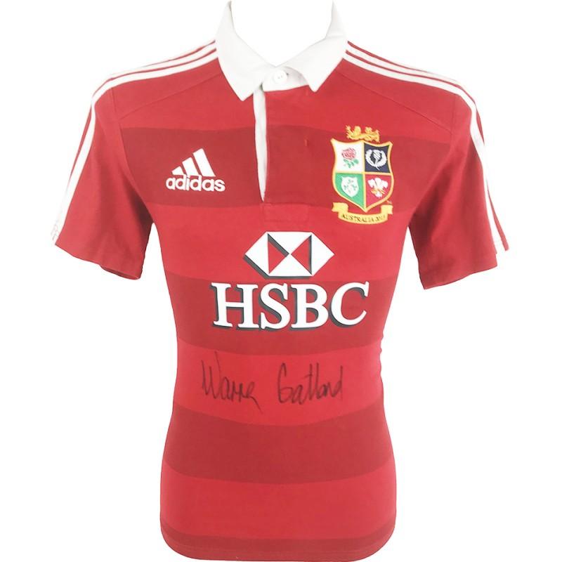Gatland's British & Irish Lions Signed Shirt, 2013