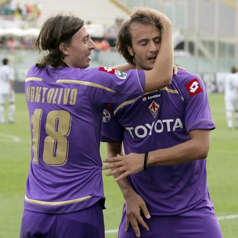 Gilardino's Signed Match-Issued/Worn 2008/09 Fiorentina Shirt